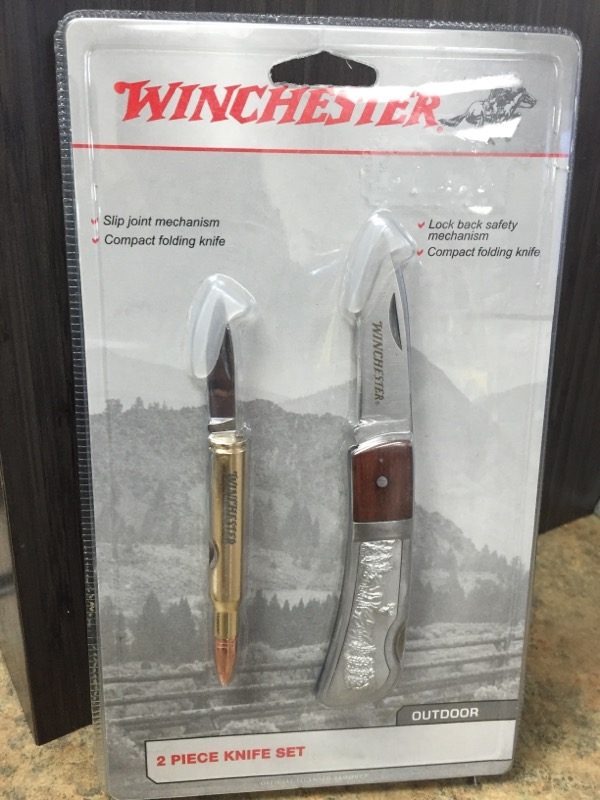 WINCHESTER Pocket Knife KNIFE SET