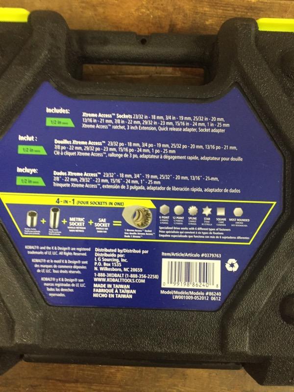 KOBALT TOOLS Miscellaneous Appliances 0379763