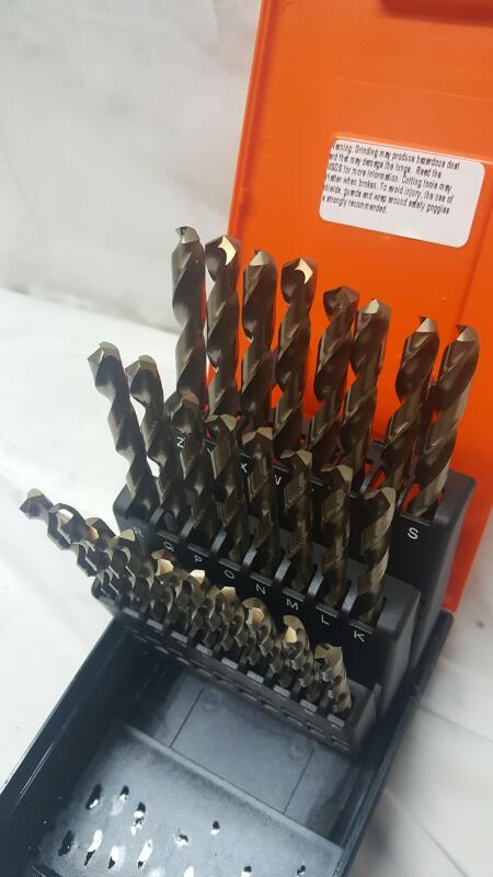 HERTEL Drill Bits/Blades DRILL BIT SET