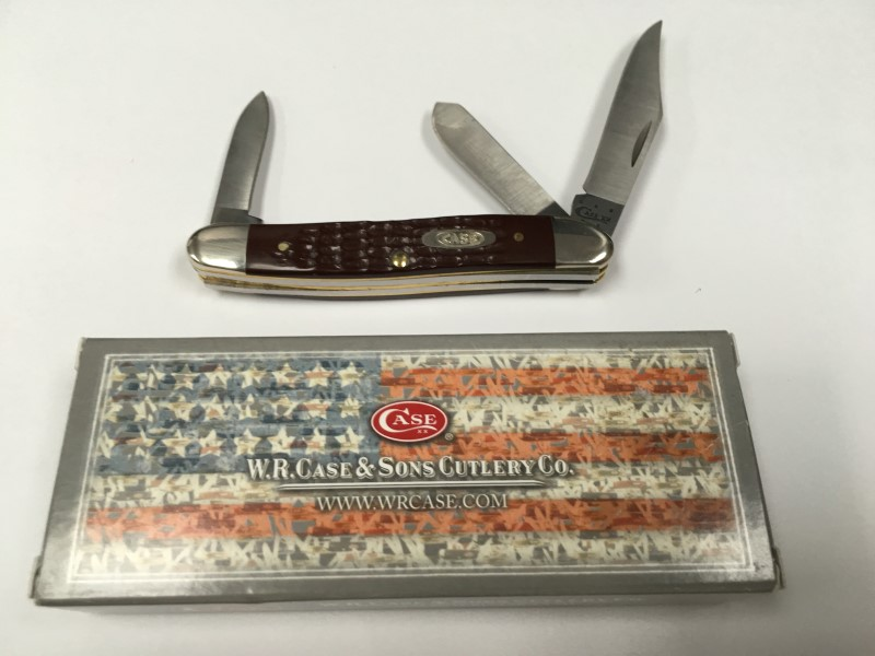 WR CASE STOCKMAN KNIFE #0217, ORIGINAL  BOX