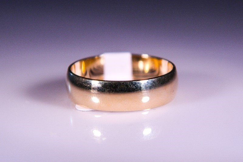 Gent's Gold Ring 10K Yellow Gold 4.6g Size:11