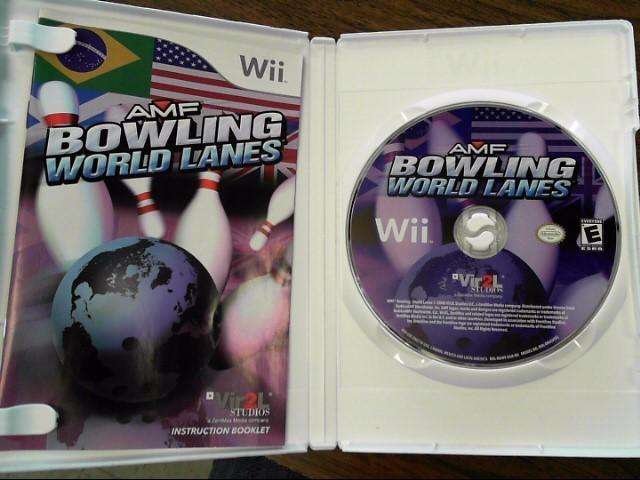 NINTENDO Nintendo Wii Game AMF BOWLING WORLD LANES
