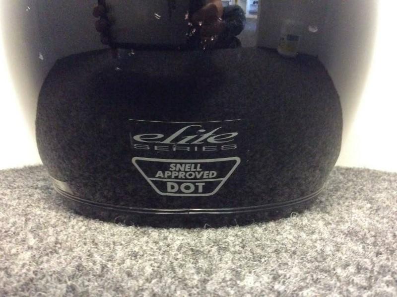 Shoei Elite Series RF-R (Black) Size Small Motorcycle Helmet