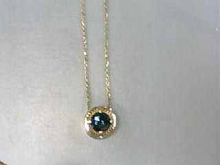 Diamond Necklace 1.04 CT. 14K Yellow Gold 2.3dwt