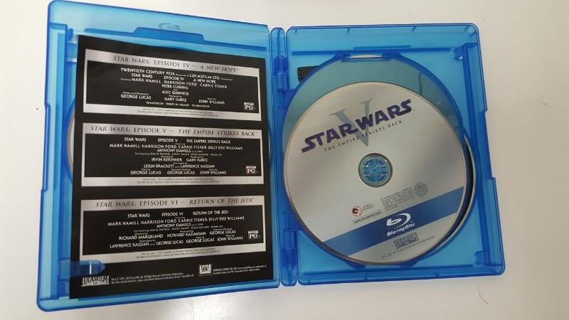 BLU-RAY MOVIE Blu-Ray STAR WARS IV V VI BOX SET