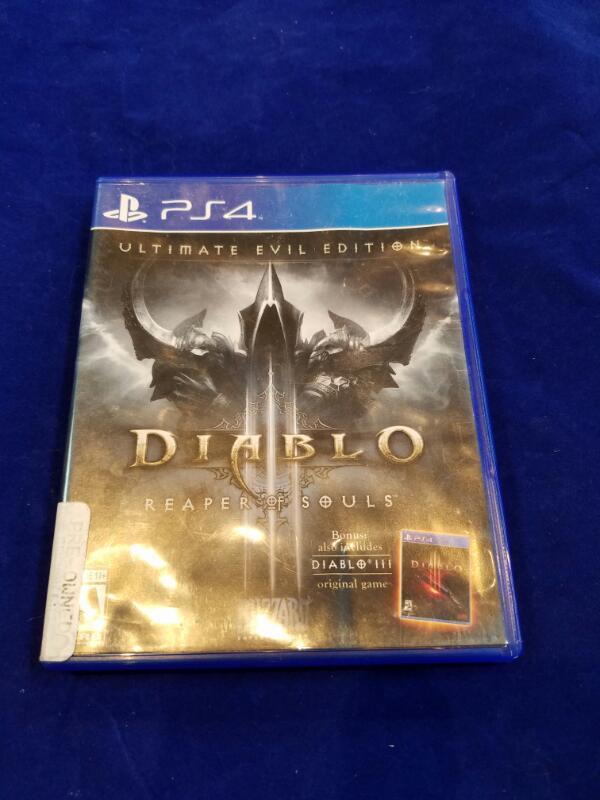 Sony PlayStation 4 Game DIABLO III REAPER OF SOULS
