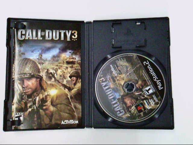 SONY PS2 CALL OF DUTY 3