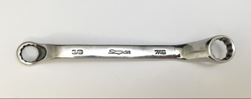 """Snap On 3/8 7/16"""" DEEP OFFSET XSO1214A"""