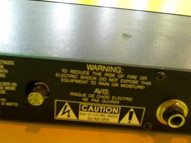 BBE SOUND Equalizer 482