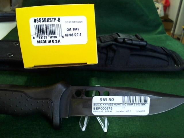 BUCK KNIVES Hunting Knife 0655BKSTP-B