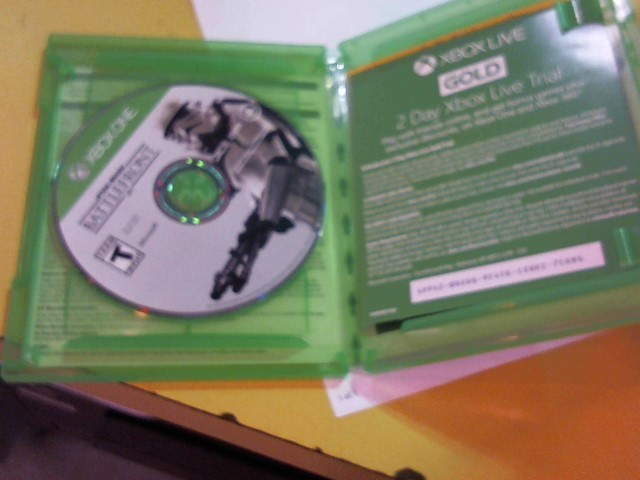 MICROSOFT Microsoft XBOX One Game STAR WARS BATTLEFRONT XBOX ONE