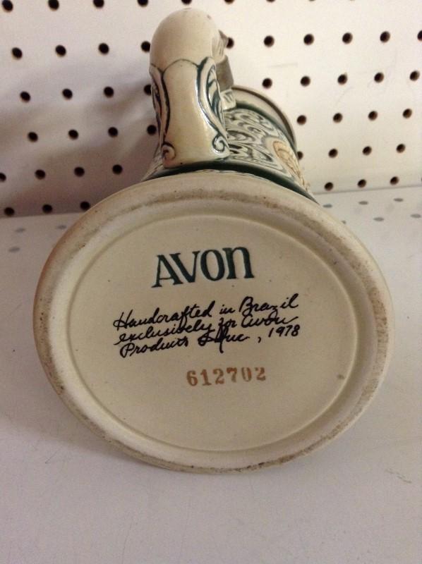 AVON Glass/Pottery BEERSTEIN