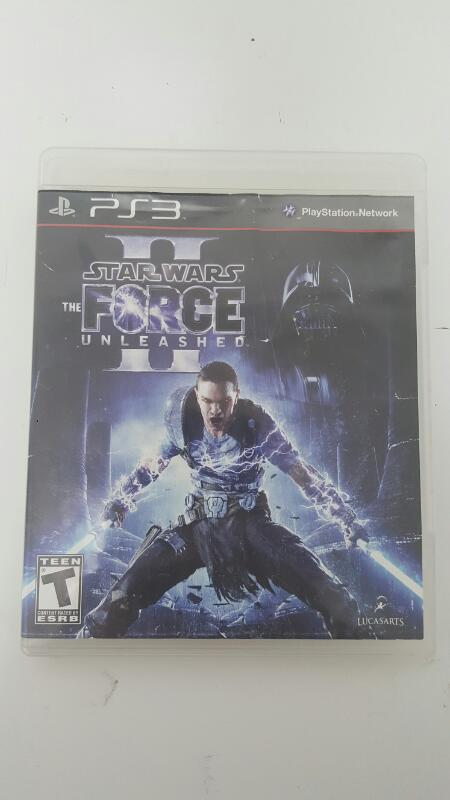 Star Wars: The Force Unleashed Sony Playstation 3 PS3