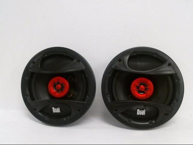 DUAL ELECTRONICS Car Speakers/Speaker System XP65I