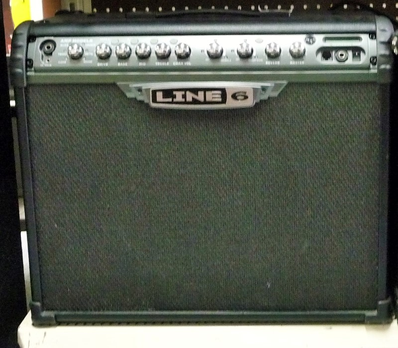 LINE 6 Electric Guitar Amp SPIDER 3 75W AMPLIFIER