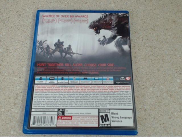 EVOLVE - Playstation 4 Game