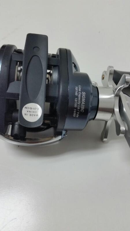 Shakespeare Sigma 2BC 6.3:1 Gear Ratio Baitcasting Fishing Reel