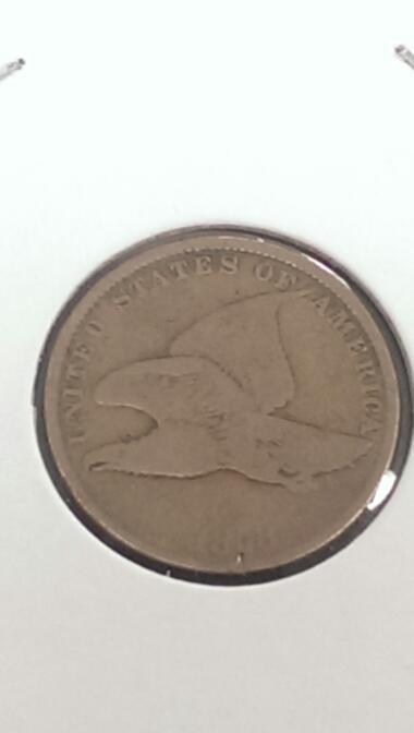 1858 FLYING EAGLE 1 CENT