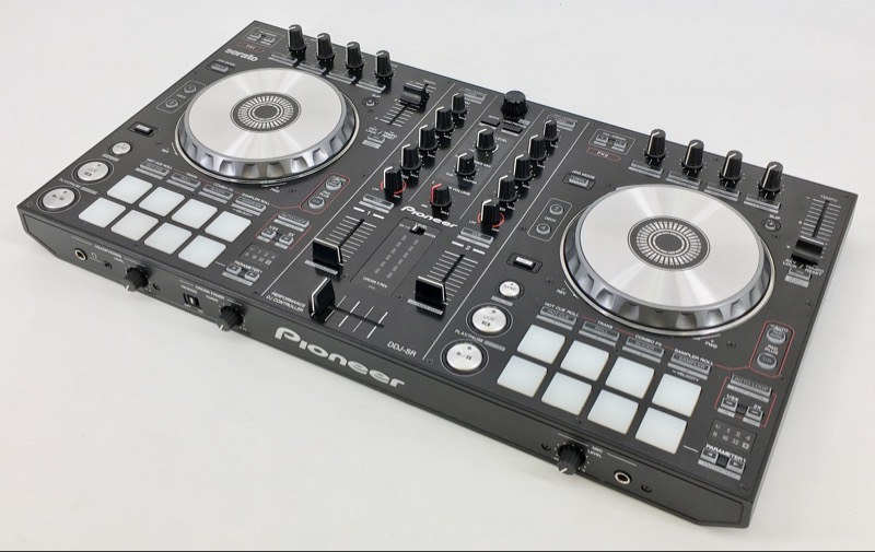 PIONEER ELECTRONICS DDJ-SR DJ TURNTABLE CONTROLLER SERATO