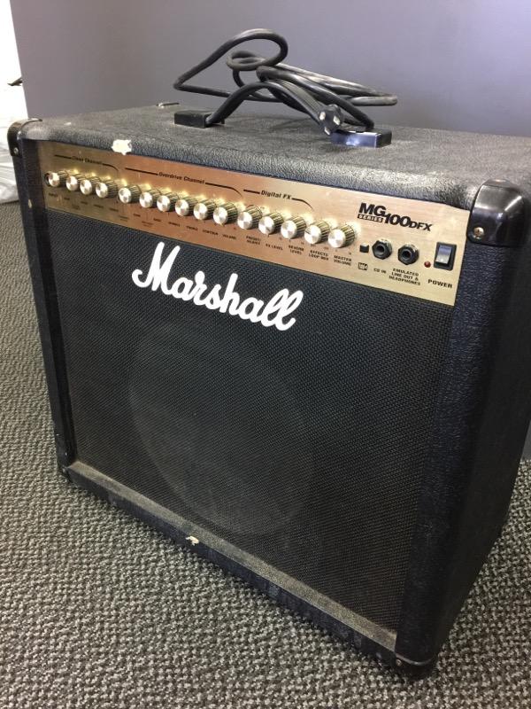 MARSHALL Electric Guitar Amp MG100DFX