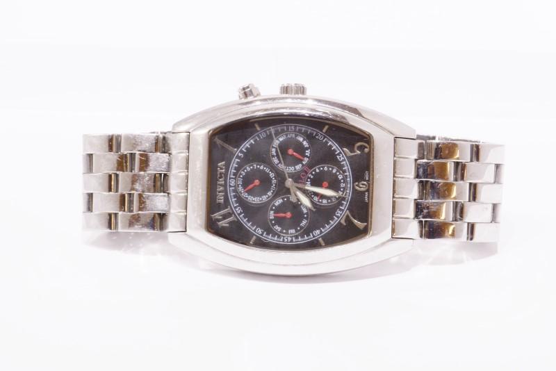 Invicta Diablo II 2 9053 Men's Glow Chronograph St. Steel Watch
