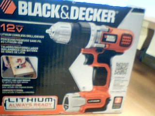BLACK&DECKER Cordless Drill LDX112C