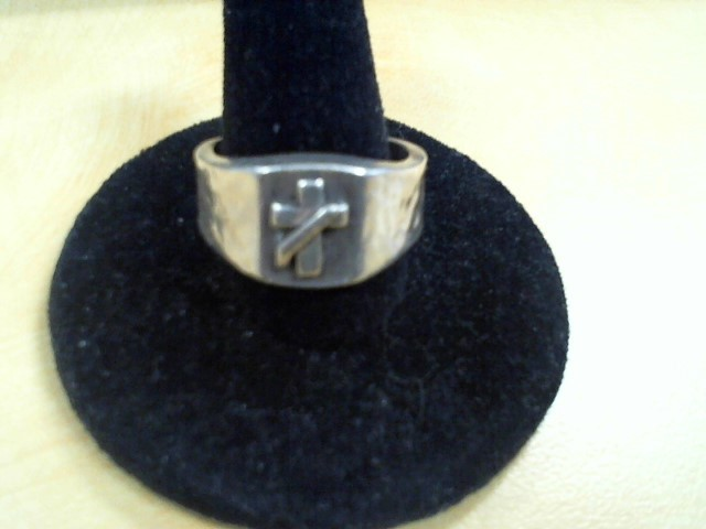 Gent's Silver Ring 925 Silver 9.8g Size:7.5