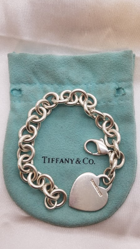 Tiffany & Co. Silver Fashion Bracelet 925 Silver 33.6g