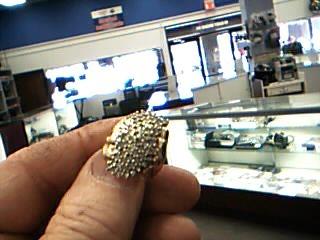 Lady's Diamond Fashion Ring 60 Diamonds 1.80 Carat T.W. 10K Yellow Gold 10.87g