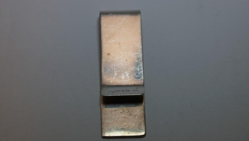 TIFFANY & CO Men's Accessory 1837 MONEY CLIP