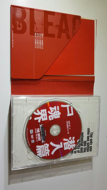Shonen Jump Bleach Original & Uncut The Entry Season Two 2 5 Disc DVD Set