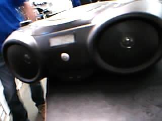 MEMOREX Boom Box MP3851BLK
