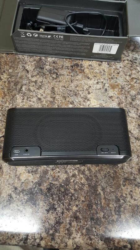 Monster Micro HD Clarity Bluetooth Speaker- (Black)