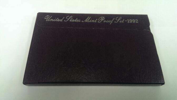 UNITED STATES MINT PROOF SET 1992