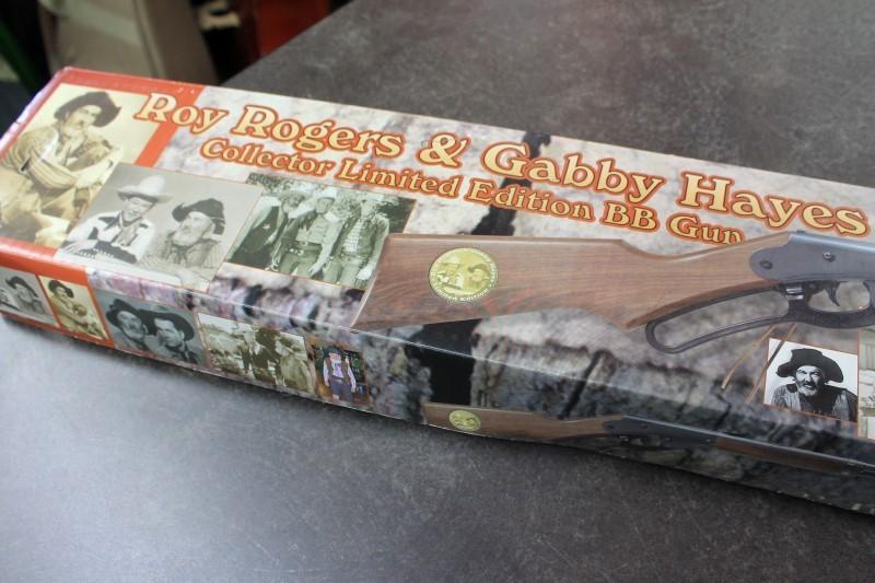 DAISY  ROY ROGERS AND GABBY HAYES BB GUN