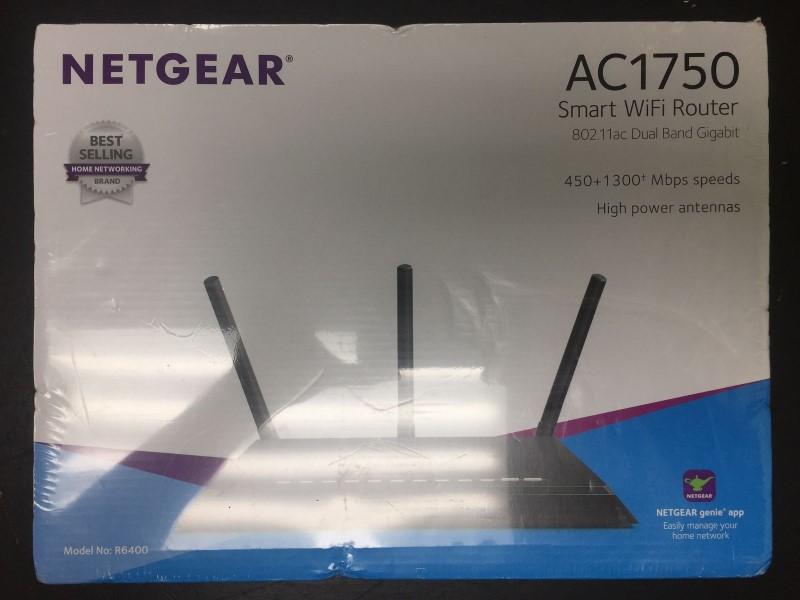 NETGEAR Smart WiFi Router AC1750