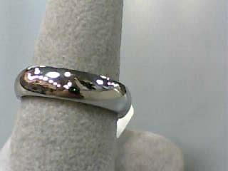 Lady's Gold Wedding Band 14K White Gold 4.1dwt Size:7