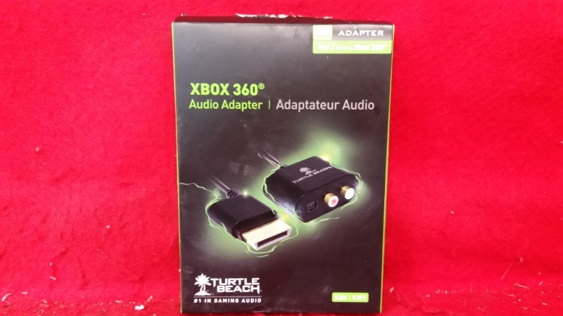 Genuine Brand New Xbox 360 Audio Adapter from Turtle Beach