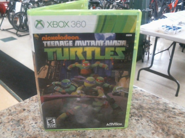 MICROSOFT Microsoft XBOX Game TEENAGE MUTANT NINJA TURTLES