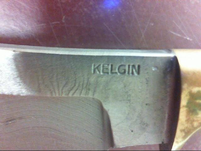 "KELGIN Stag Hunting Knife 3"" Blade"
