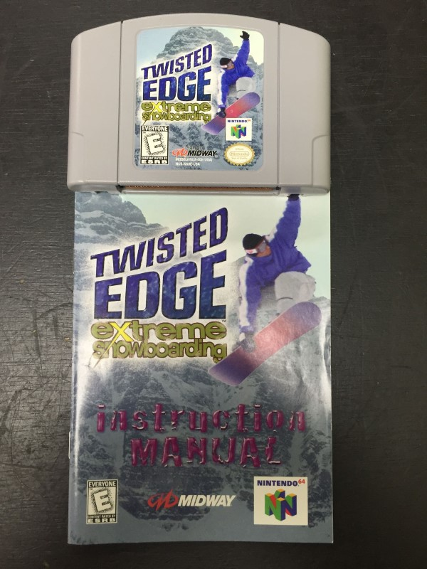 NINTENDO Nintendo 64 Game TWISTED EDGE EXTREME SNOWBOARDING 64