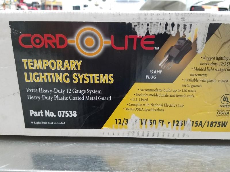 COLEMAN Work Light TOOLS CORD-O-LITE 07538
