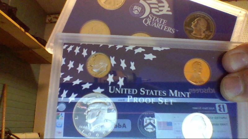 UNITED STATES Mint Set 1999 MINT PROOF SET