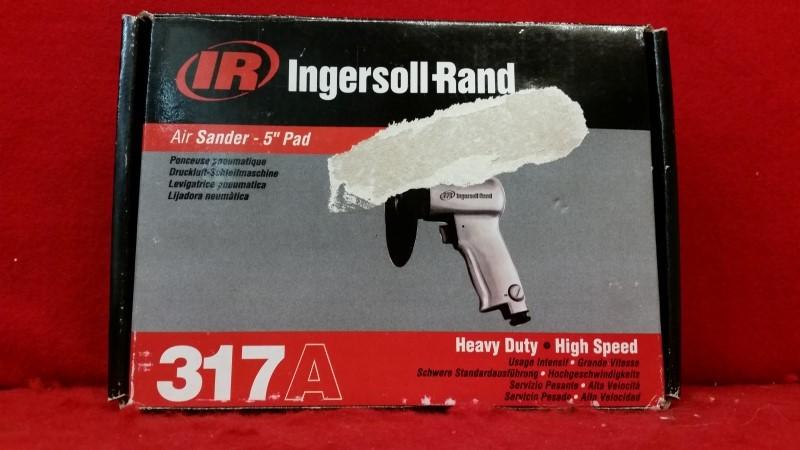 "Ingersoll Rand 5"" Heavy-Duty High-Speed Air Sander 317A"