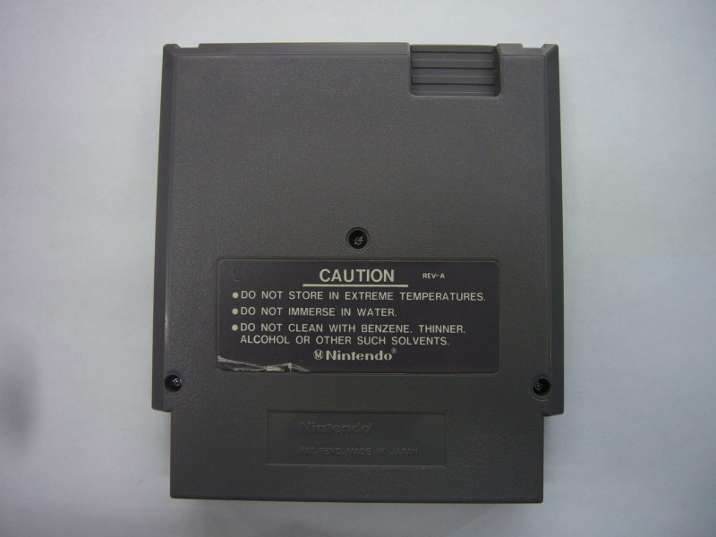 NINTENDO NES Game JAWS *CARTRIDGE ONLY*