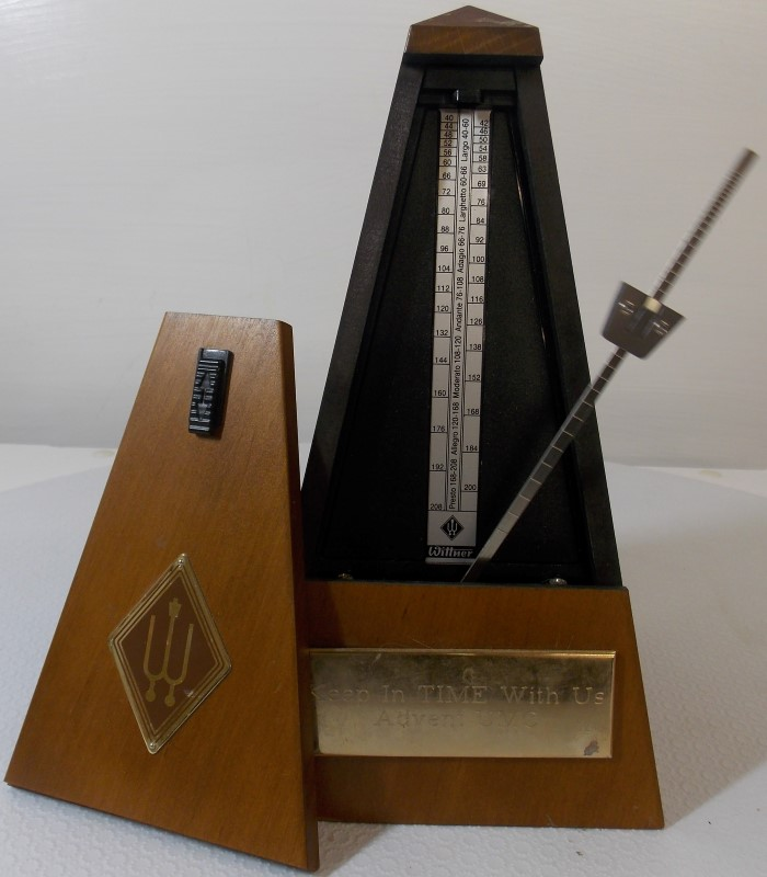VINTAGE WITTNER MAELZEL PYRAMID METRONOME WITHOUT BELL