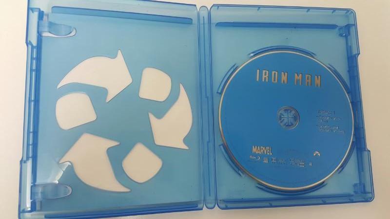 BLU-RAY MOVIE Blu-Ray IRON MAN