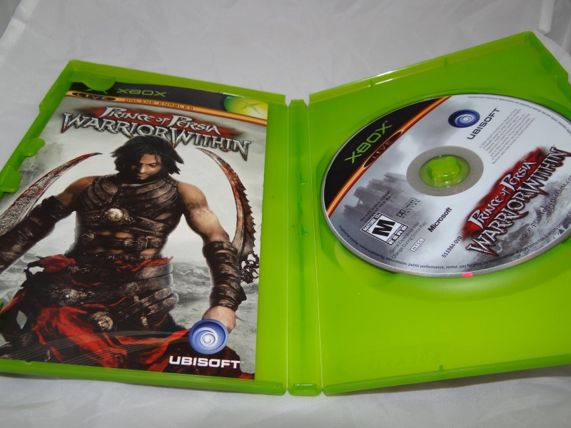 PRINCE OF PERSIA WARRIOR WITHIN - XBOX GAME