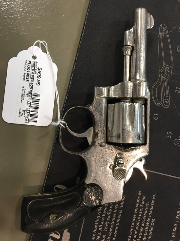 SMITH & WESSON Revolver 32 LONG CTG HAND EJECTOR REVOLVER