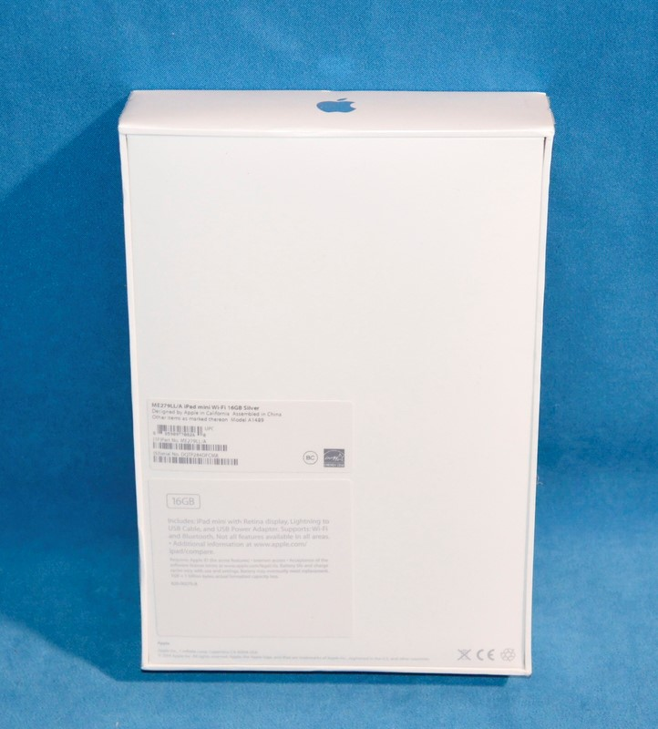 APPLE Tablet IPAD MINI 2 A1489 16GB SILVER